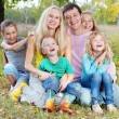 Happy family — Stock Photo #6994935