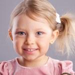 Girl little — Stock Photo