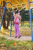Сhild on the playground — Stock Photo