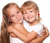 Meninas felizes — Foto Stock