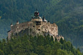 Hohenwerfen castle in Austria — Stock Photo
