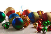 Christmas balls isolated — Photo