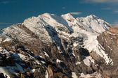シルトホルン山からの眺め — ストック写真