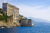 Oceanographic Museum of Monaco — Stock Photo