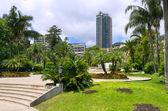 在摩纳哥无可挑剔花园 — 图库照片