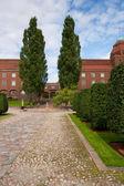 技术大学。瑞典斯德哥尔摩 — 图库照片