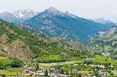 Aosta Valley. Italy — Stock Photo