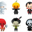 Vettoriale Stock : Halloween icons