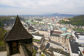 Panorama of Salzburg. Austria. — Stock Photo