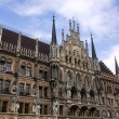 Facade of the famous Townhall / Munich — Stock Photo
