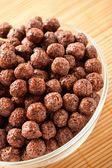 Crunchy chocolate balls — Stock Photo