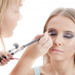 Beautiful Young Woman Face.Make-up concept — Stock Photo #6943960