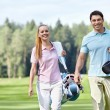 Golfers — Stock Photo