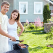 Stock Photo: Barbecue