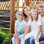 Happy family — Stock Photo #7458501