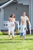 An active family — Stock Photo