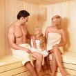 Family leisure — Stock Photo