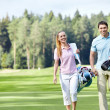On the golf course — Stock Photo #7692443