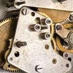 Mechanism clockwork macro — Stock Photo #6915187