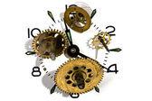 Clockwork on white background — Stock Photo
