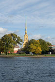Peter and Paul Fortress St.Petersburg — Stock Photo