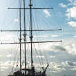 Sailing ship in St. Petersburg — Foto Stock