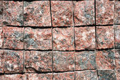 Surface of a granite block — Stock Photo