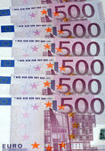 Europe euros banknote of hundreds — Stock Photo