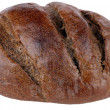 Dark bread on isolated — Stock Photo