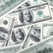 Stock Photo: Americdollars hundreds banknote