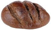 Dark bread on isolated — Stock Photo