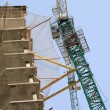 Stock Photo: House develop with crane