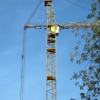 Stock Photo: Crane tower