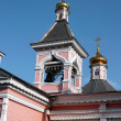 Stock Photo: Old wood temple bogorodskiy