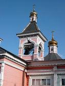 Vieux bois temple bogorodskiy — Photo