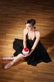 Unga ballerina — Stockfoto