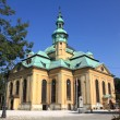 Temple in Jelenia Gora — Stock Photo