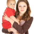 Stock Photo: Mother's love, attachment and protection