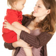 Mother's love, attachment and protection — Stock Photo #6837161