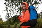 Kvinna traveler — Stockfoto