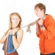 Couple conflict — Stock Photo #6880294