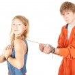 Couple conflict — Stock Photo #6880306