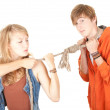 Couple conflict — Stock Photo #6908418