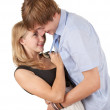 Young couple embracing — Stock Photo #6908600