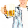 Man offering beer — Stock Photo #6908899