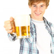 Man offering beer — Stock Photo #6908906