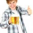 Man offering beer — Stock Photo #6908909
