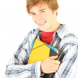 Stock Photo: Male student