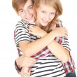 Young couple embracing — Stock Photo #6915155