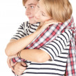 Young couple embracing — Stock Photo #6915162